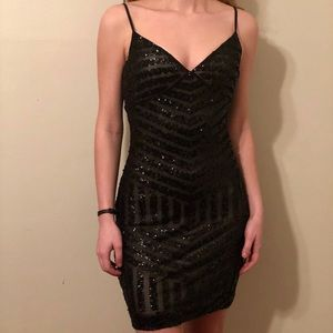 Black Body-con Occasion Dress